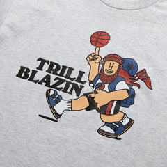 HIKE TRILL TEE - ASH GREY (PRE-ORDER)