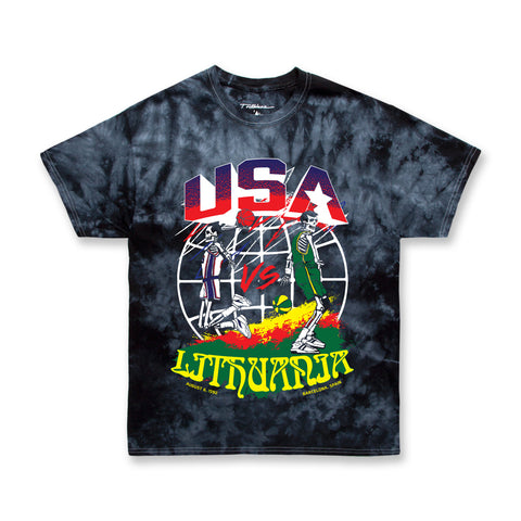 DREAM TEE - BLACK TIE DYE (PREORDER)