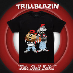 THE TOON BIZ TEE - BLACK