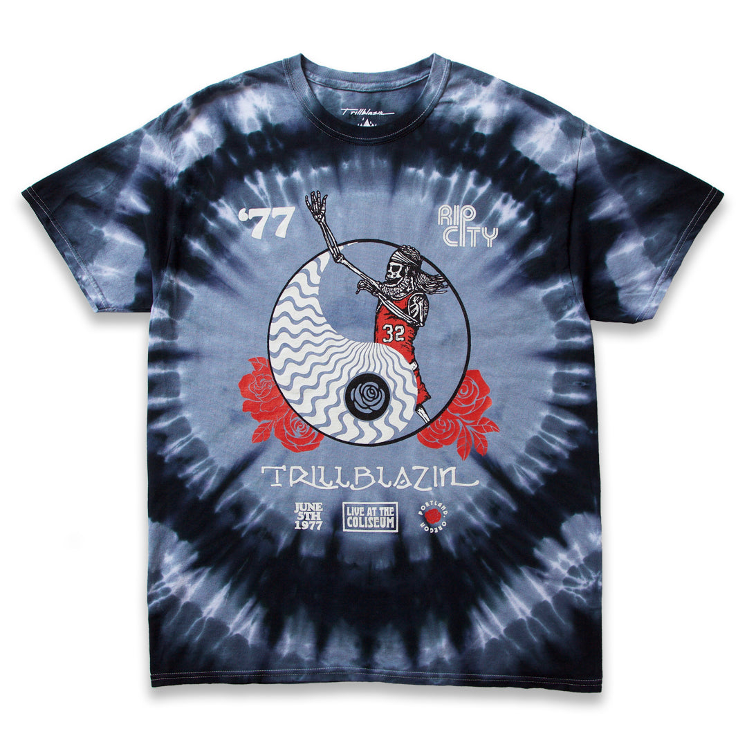 RED HEAD TEE - TIE DYE