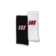 2-PACK CREW SOCKS - MULTI