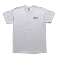 ICYMI SAMPLE SIZE TEE - ASH GREY