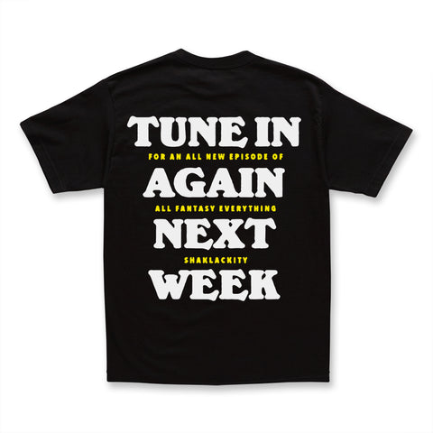 AFE TUNE IN TEE - BLACK
