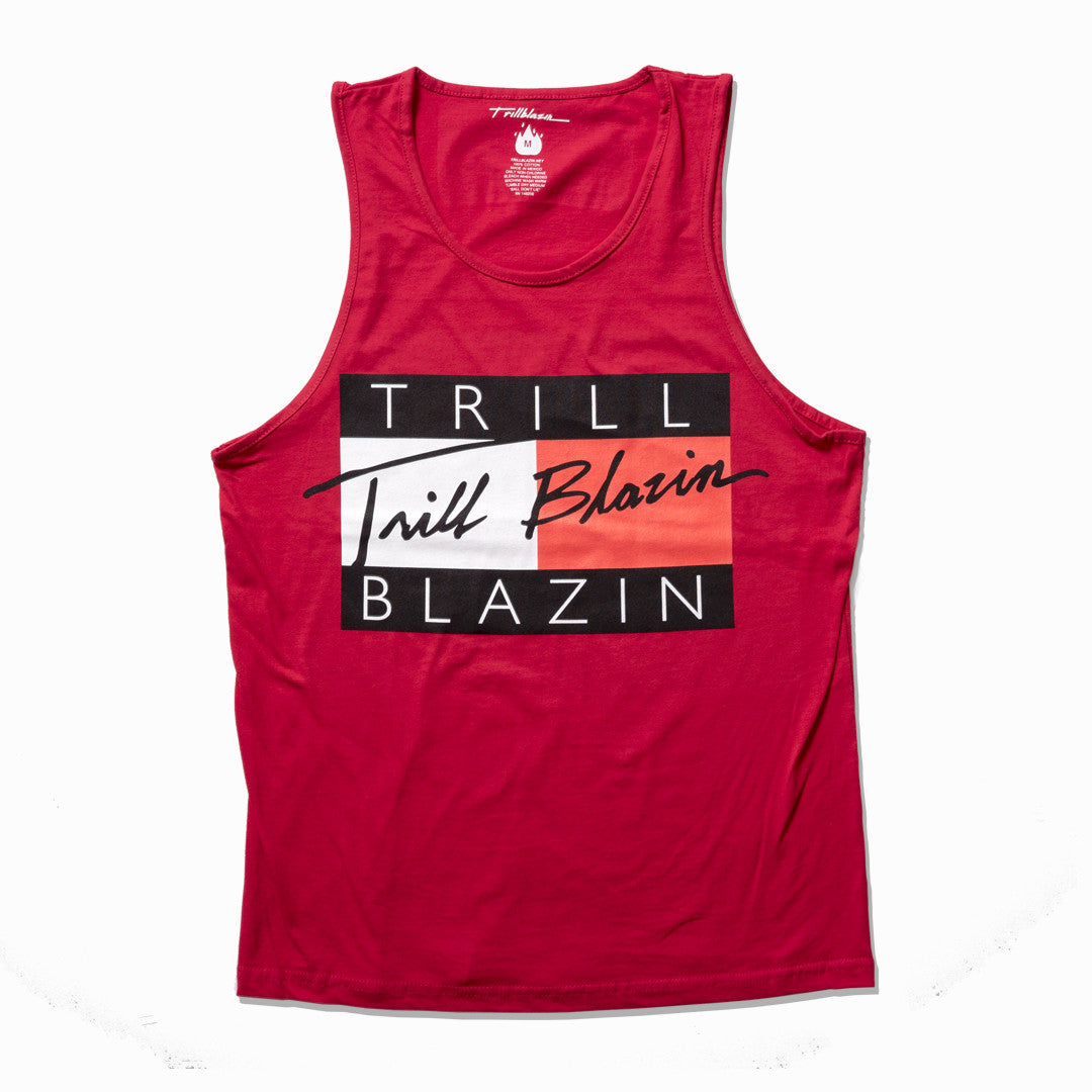 TRILL FIGURE TANK - RED