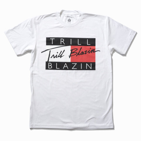 TRILL FIGURE TEE - WHITE
