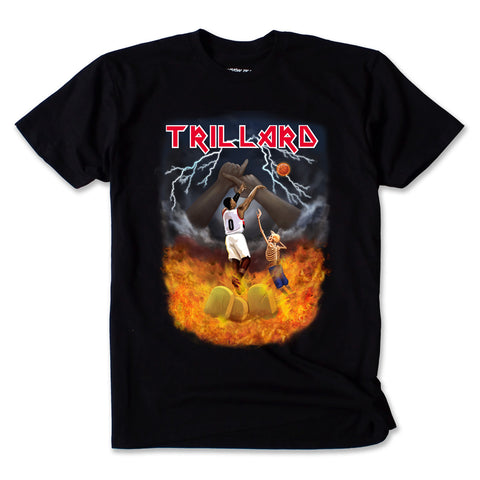 TRILLARD TOUR TEE - DEATH METAL BLACK