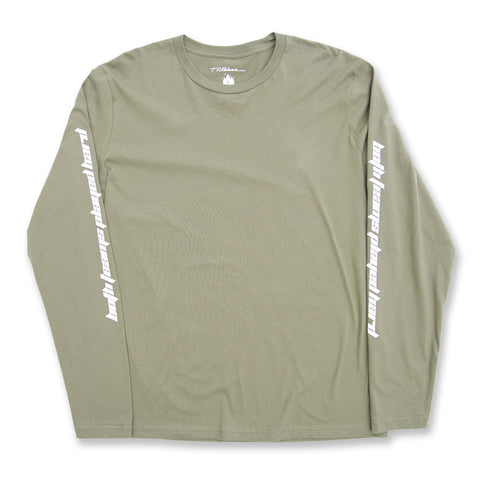 WEST HILLS L/S TEE - OLIVE