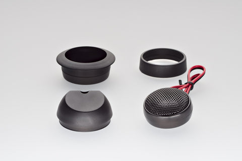 Unity U1 25mm Tweeter Kit (w/ Mounting Kit) - Pair