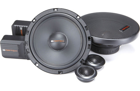 MATCH MS62C 6.5 component speaker system