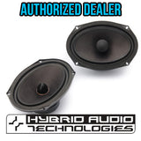 "Hybrid Audio I69-2v2 6x9"" Coaxial & Convertible Component Set - Audio Intensity"