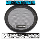 Legatia: 4-Inch Grille Set w/ Hexagonal Perforations - Pair - Audio Intensity