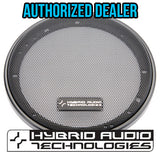 "Mirus 5.25"" Grille Set w/ Round Perforations - Pair - Audio Intensity"