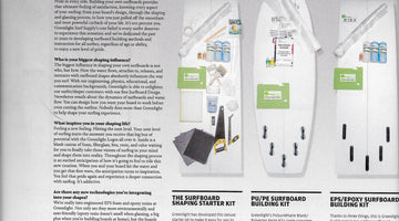 Greenlight Surfboard Shaping Kits Featured in SurferMag Board Buyers Guide