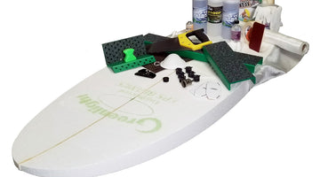 What's included in the Greenlight Surfboard Shaping Starter Kits?