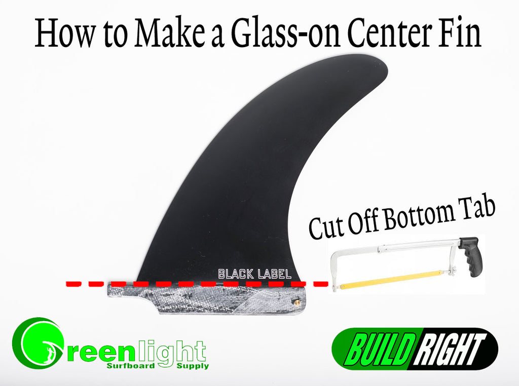 How to make a longboard glass on centerfin