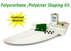 Surfboard building kit polyurethane PU foam US Blanks Common Surf Foam