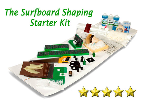 Surfboard shaping starter kit - how to shape and fiber glass surf boards