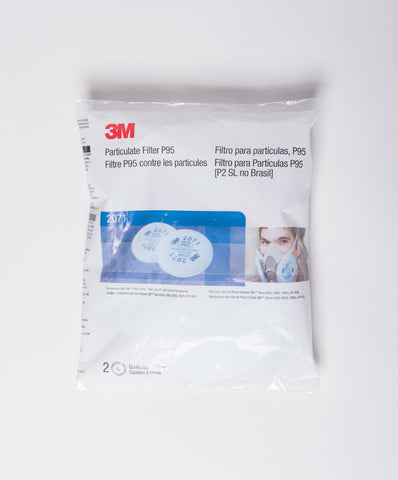 3M 2071 P95 Particulate Filter (Pair)