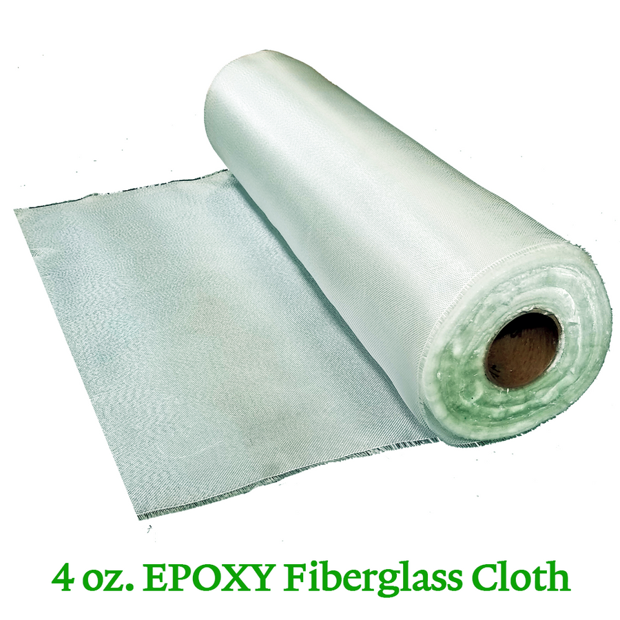 4 oz. Epoxy Fiberglass Cloth