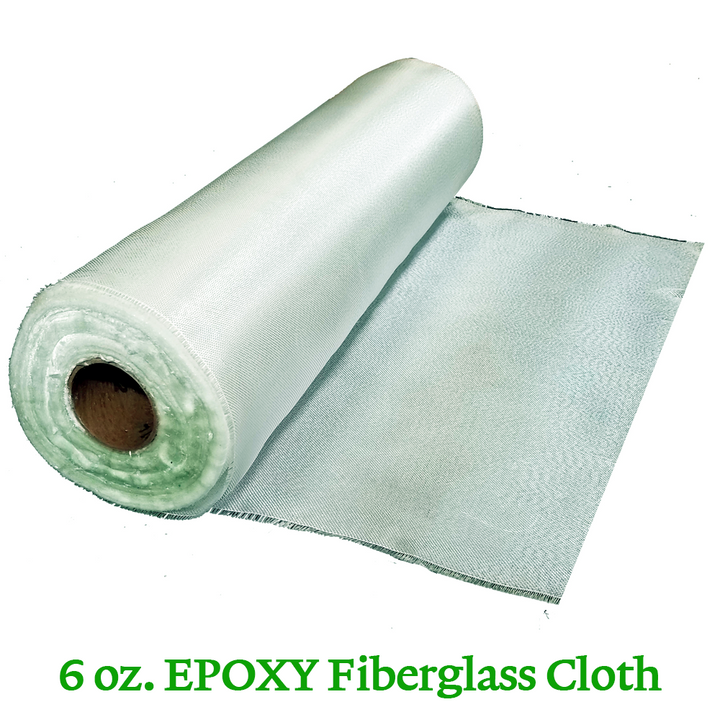 6 oz. Epoxy Fiberglass Cloth