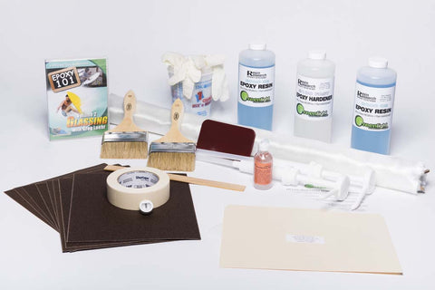 Beginner Glassing Kit with Epoxy Resin