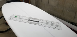 G-Square Surfboard Fin and Outline Layout Measuring Tool