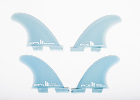 FCS II Quad Fin Set