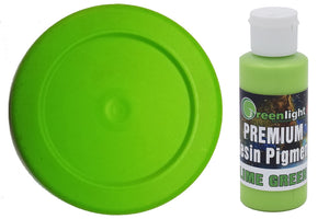 Epoxy Resin Pigment - Lime Green
