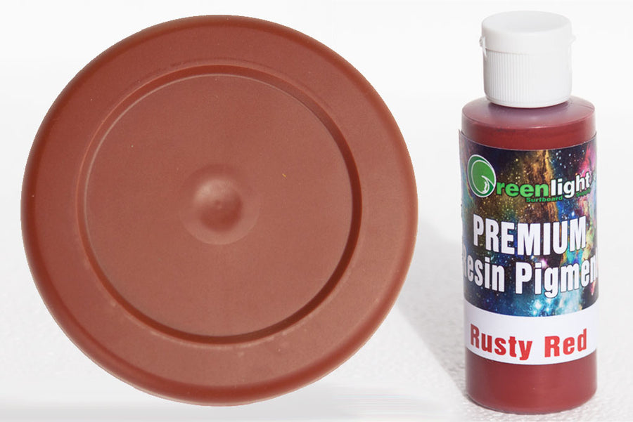 Epoxy Resin Pigment - Rusty Red