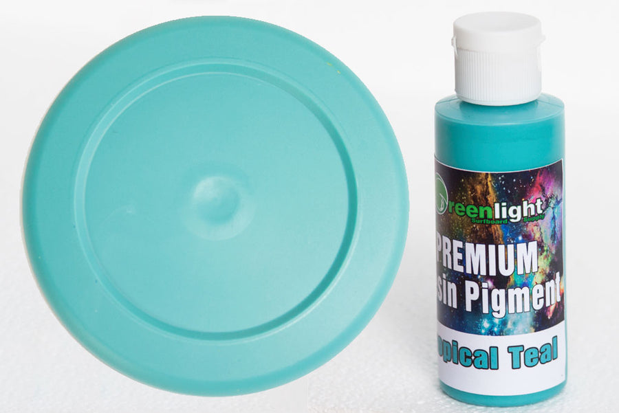 Epoxy Resin Pigment - Tropical Teal