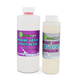 Greenlight Marine Grade Epoxy Resin System with SLOW Hardener