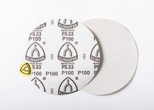 "8"" Peel n' Stick Disc Sand Sandpaper - PSA Backed"