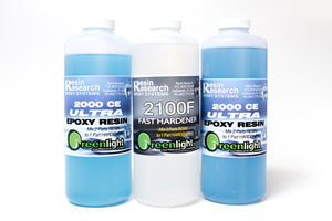 Resin Research 2000CE ULTRA Epoxy Resin with FAST Hardener