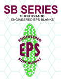 [SB Series] EPS Foam Shortboard Surfboard Blanks : More Nose Rocker and Less Tail Rocker