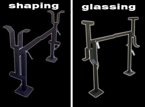 Greenlight Shaping / Glassing Rack Stands