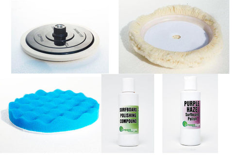 Surfboard Polishing Starter Kit