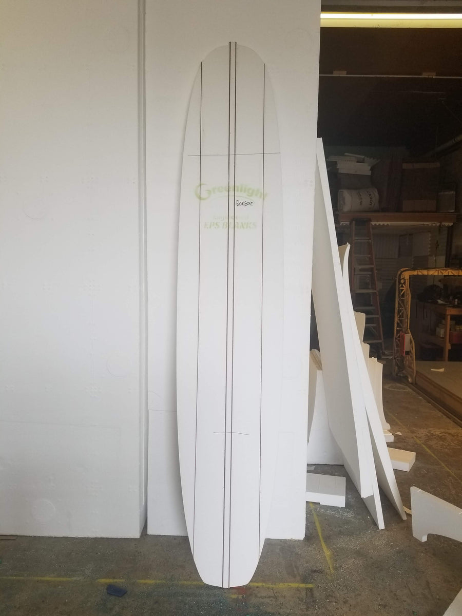 "Custom Cut Engineered EPS Foam Blank 4'0"" - 6'5"" Long"
