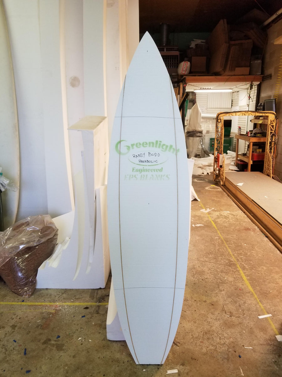 "Custom Cut Engineered EPS Foam Blank 6'6"" - 7'6"" Long"