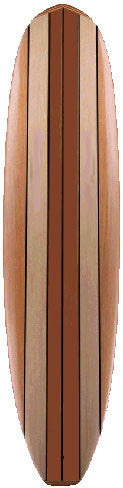 "Wood Surfboard Kit - Robert August ""What I Ride"" Longboard"