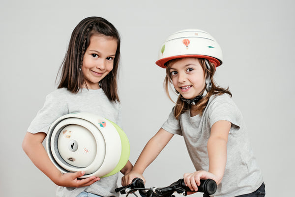 Closca Kids, the first child-inspired helmet designed for children.