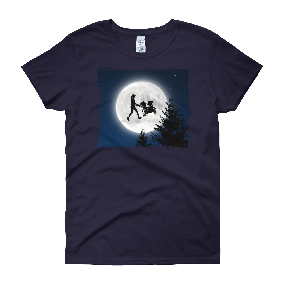 E.T. Style Twin Mom Shirt (navy)