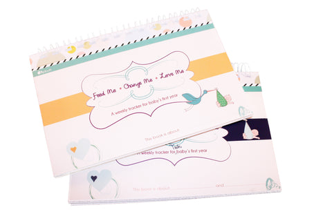 Twin Baby Tracking Journal