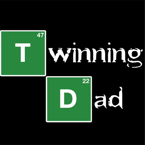 Twinning Dad (Breaking Bad Style) T-Shirt