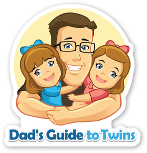 Dad's Guide to Twins Sticker