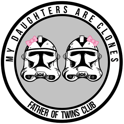 My Daughters Are Clones Magnet (for Fathers)