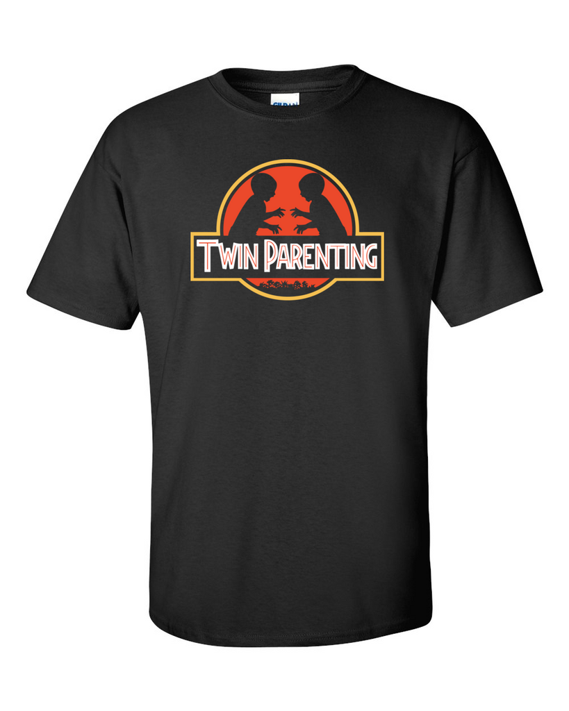 Twin Parenting - Jurassic Park Style T-Shirt