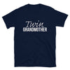 Twin Grandmother T-Shirt (Navy)