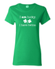 I am lucky. I have twins. (womens shirt)