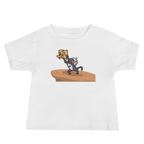 Lion King Style Presenting Twins T-Shirt for Kids