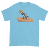 Lion King Style Presenting Twins T-Shirt in Sky Blue